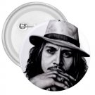 Johnny Depp 3 inch pinback button backpack pin 26994620