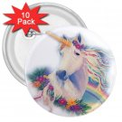 Rainbow Unicorn 10 pack of 3 inch pinback buttons backpack pins 26994634