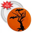 10 pack of 3 inch HALLOWEEN  pinback buttons backpack pins 27280560