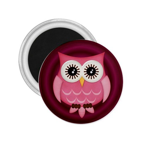 PinkOwl Design 2.25 inch Magnet Locker Refrigerator 27280595