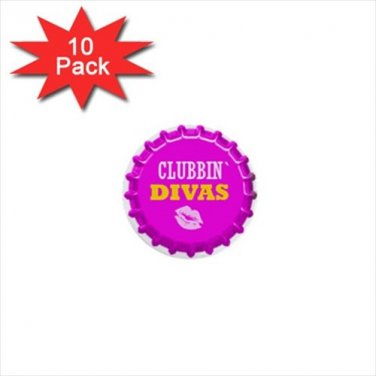 Diva Design 10 pack of 1 inch pinback buttons backpack pins 29364418