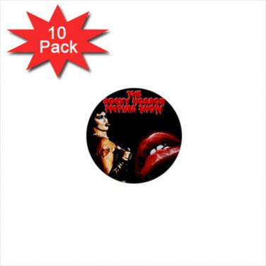 Rocky Horror Picture Show 10 pack of 1 inch pinback buttons backpack pins 71829264