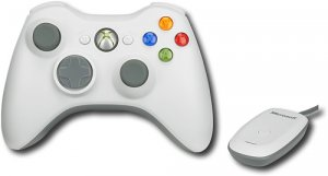 NEW MICROSOFT XBOX 360 WIRELESS PC CONTROLLER + ADAPTER/RECEIVER FOR WINDOWS