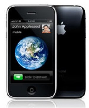 JAILBROKEN/UNLOCKABLE BlACK APPLE IPHONE 3GS 32GB on iOS 4.1 + GPS/GAMES