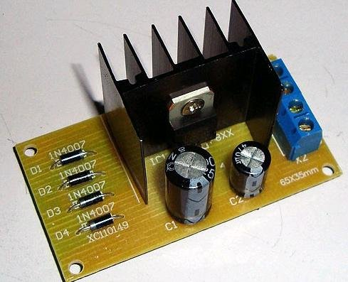 DIY Electronic learning kit regulators power supply PCB