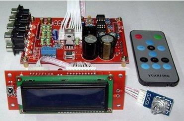 6Way M62446 5.1 Volume Remote Control Preamplifier Kit