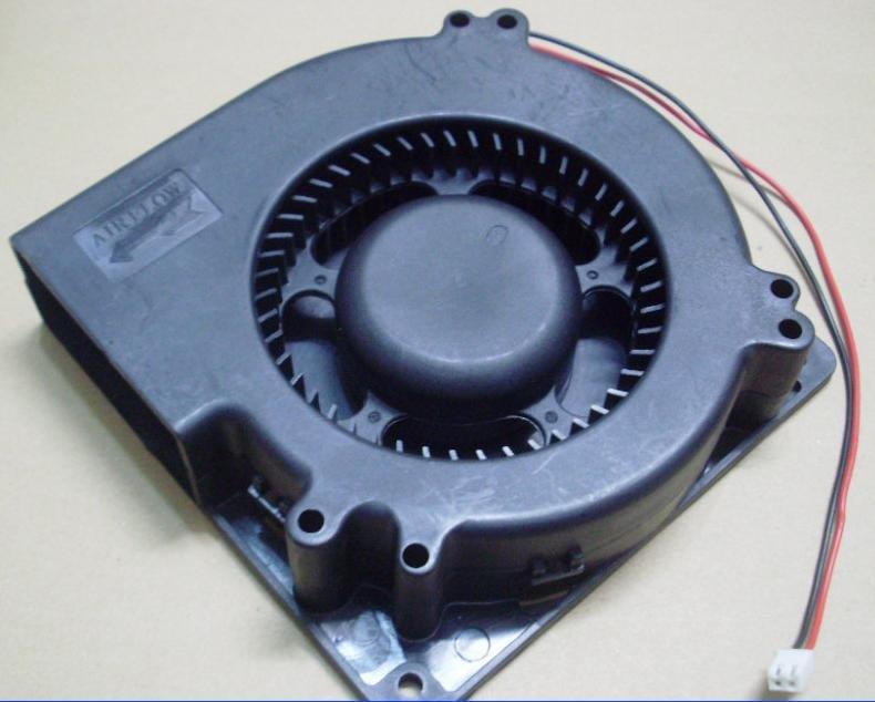 1x Brushless Ball DC Blower Fan 12V 120mm x120x32mm NEW
