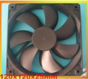 DC Cooling Fan 7 Blade 5V 12V 24V 120mm x 120 mm x25mm