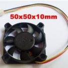 DC Cooling Fan 5V 12V 24V 50mm x 50 mmx10mm 3 Wire