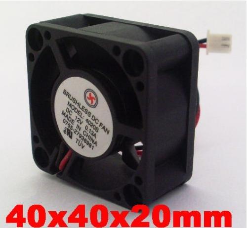DC Cooling Fan 5 Blade 5V 12V 24V 40mm x40mmx20mm