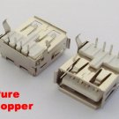 3x USB 4 Pin Pure Copper DIP Jack Female Connector NEW