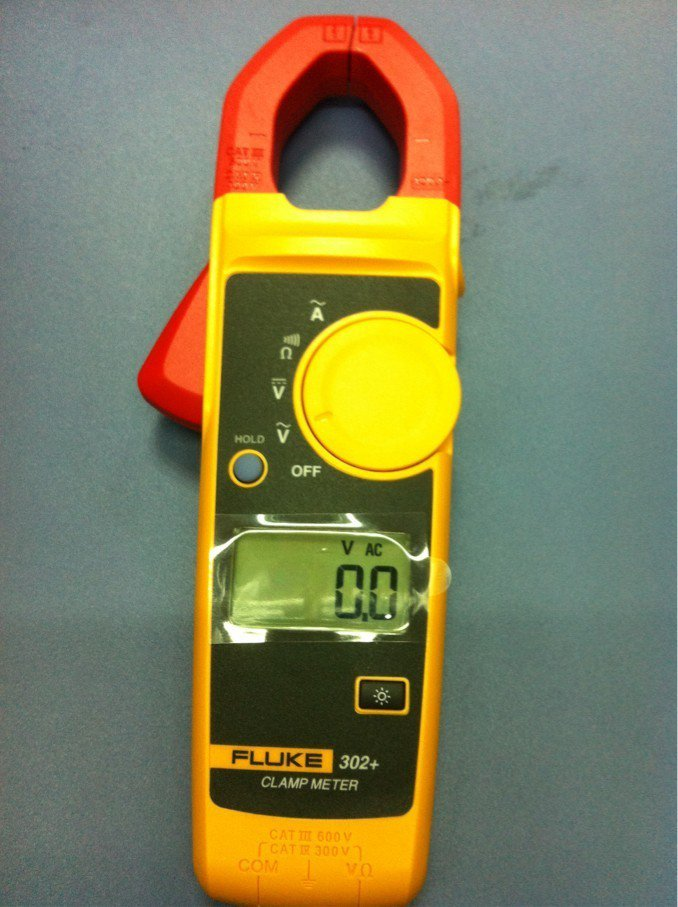 Fluke 302+  Digital current Clamp Meter AC/DC Multimeter Tester