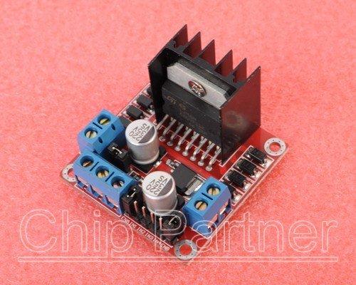 L298n stepper motor driver controller board module c5 for Stepper motor vs servo