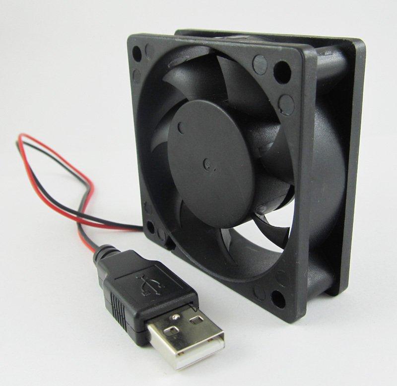 USB Powered Brushless Fan 60 x 60 x 25mm 5volt