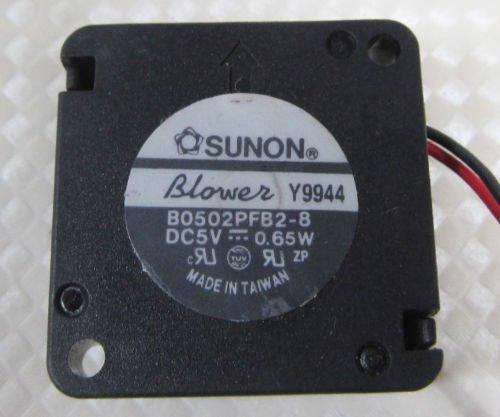 SUNON B0502PFB2-8 25x25x10 2510 DC 5V 0.65W Mini Blower Fan 2pin Connector