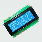 LCD Display Module 20X4 Character Blue Blacklight