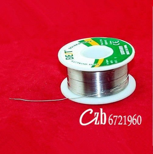 A roll of 0.5mm Tin Lead Rosin Core Solder Soldering Wire 100g
