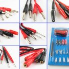 Multifunction Digital Universal Test Lead Probe Cable Set / 16pcs For Multimeter