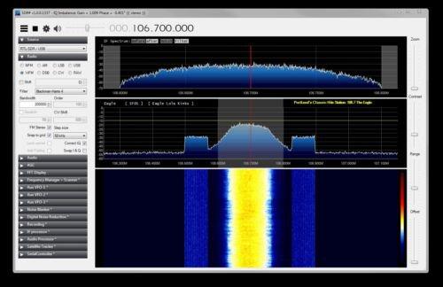 RF Spectrum Analyzer using DVB-T USB dongle