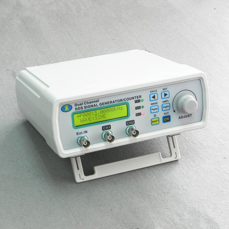 25MHz Dual Channel DDS Function Signal Generator Arbitrary Wave Sweep + Software