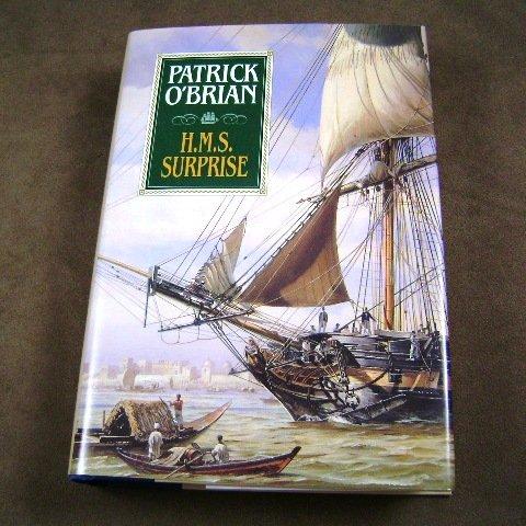 H.M.S. Surprise by Patrick O'Brian HB Jack Aubrey novels