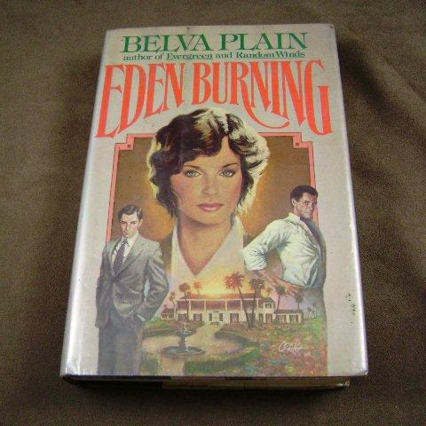 Eden Burning by Belva Plain Novel HB