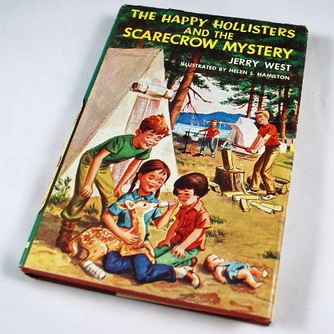 The Happy Hollisters and the Scarecrow Mystery by Jerry West HB