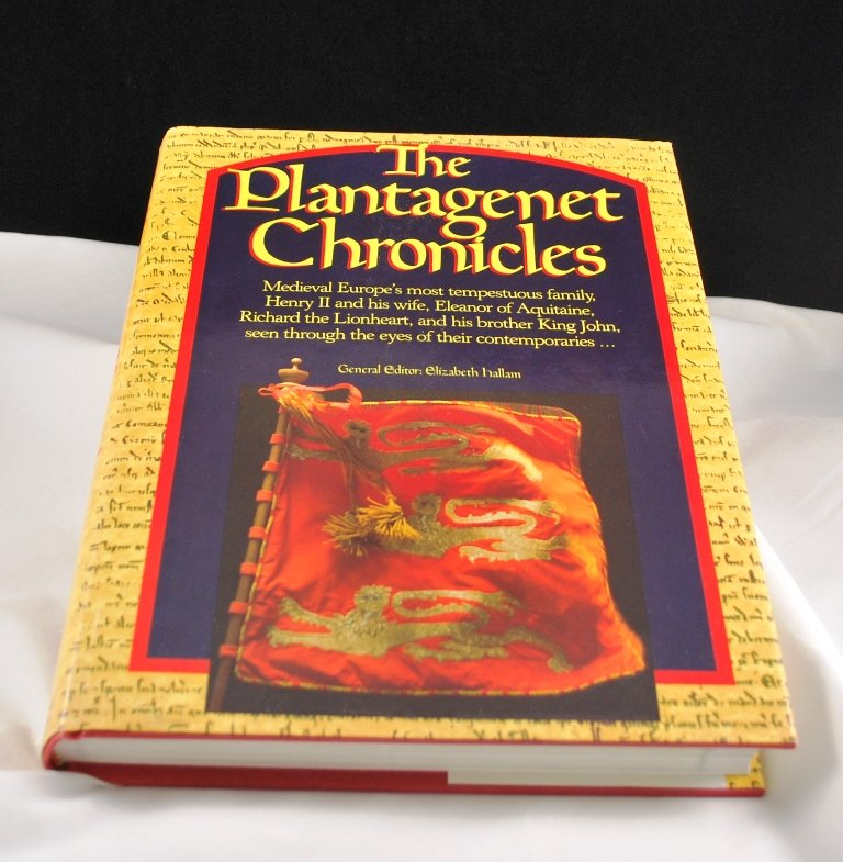 The Plantagenet Chronicles by Elizabeth Hallam HB DJ Medieval Europe