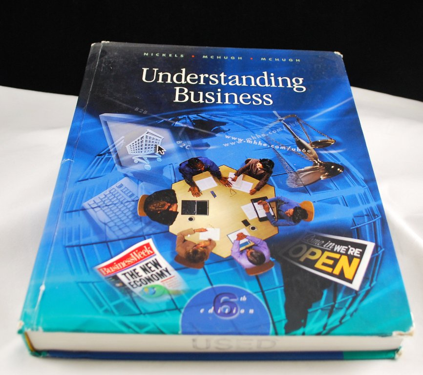 Understanding Business 6th Edition Nickels McHugh McHugh with CD
