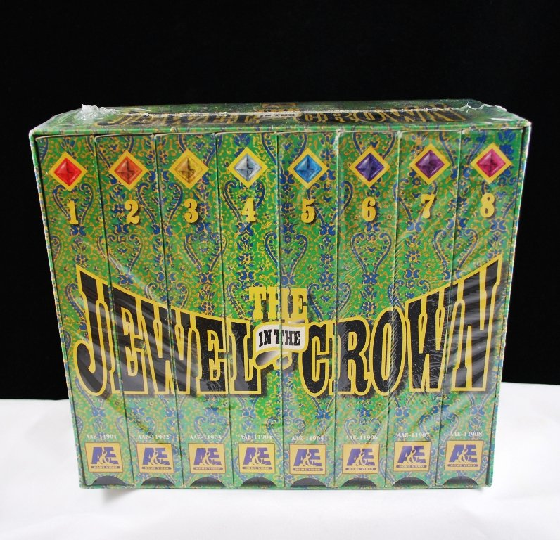 The Jewel In The Crown 8 Episode TV Series VHS A&E 1997