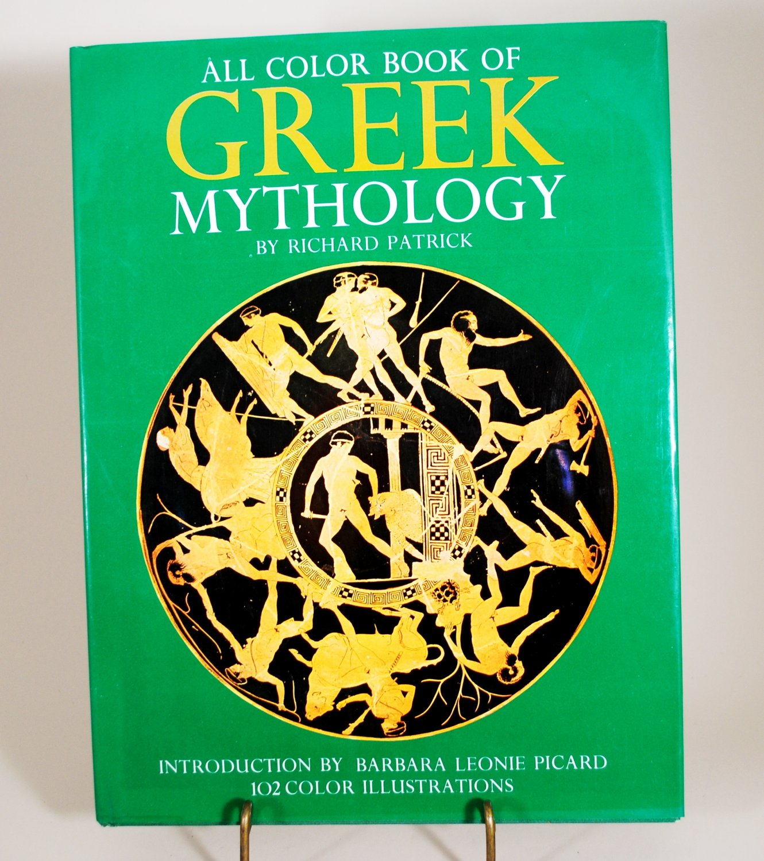 All Color Book of Greek Mythology by Richard Patrick 1972 Edition