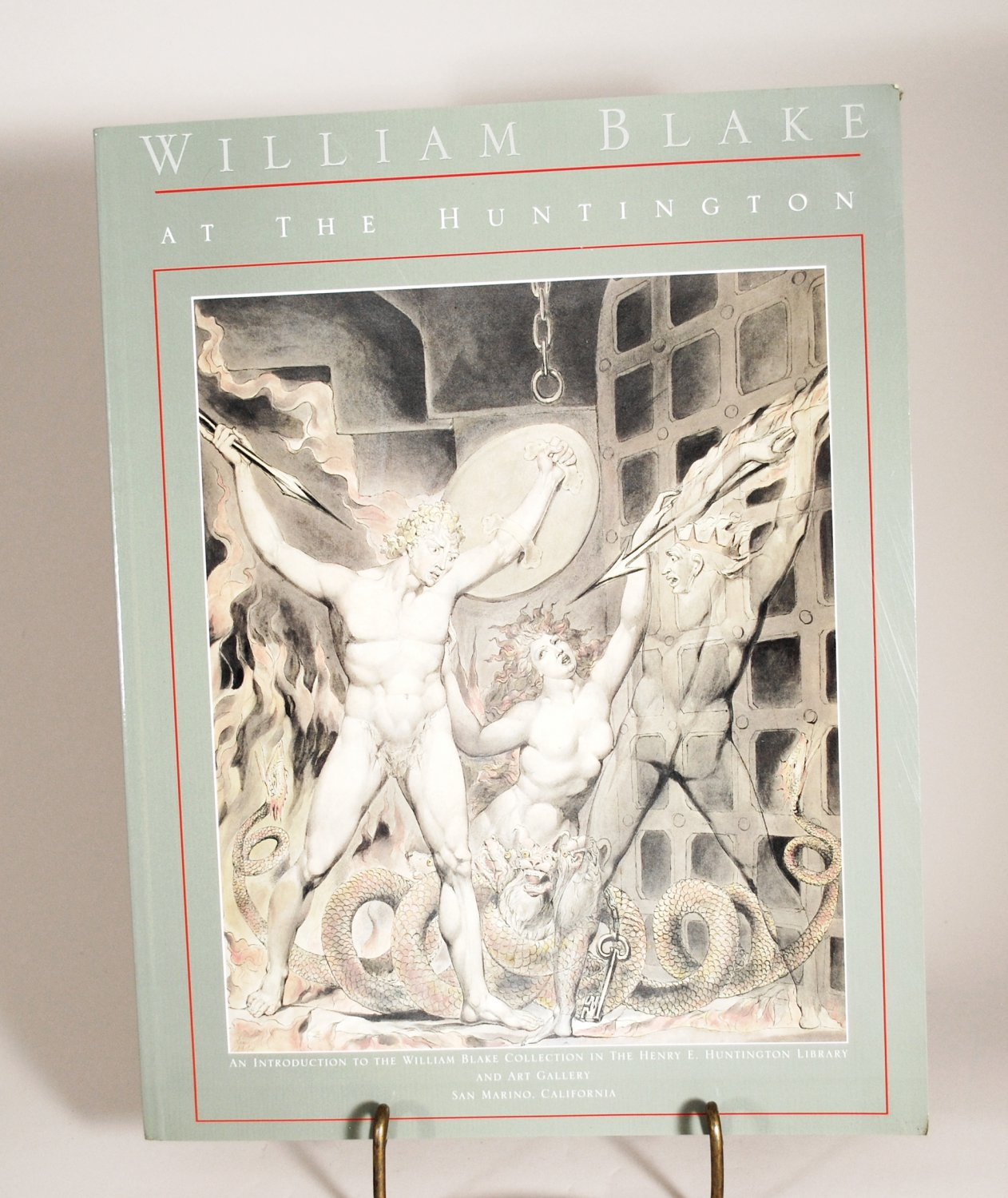 William Blake At The Huntington by Robert N. Essick Paperback 1994 Edition
