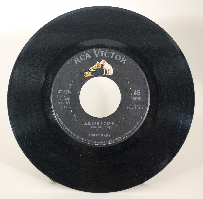 Bobby Bare - Miller's Cave Vinyl 45 Record