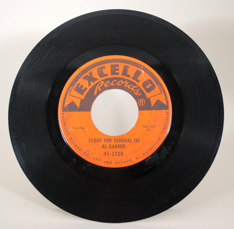 Al Garner - Scout For General Lee 45 rpm Vinyl Record