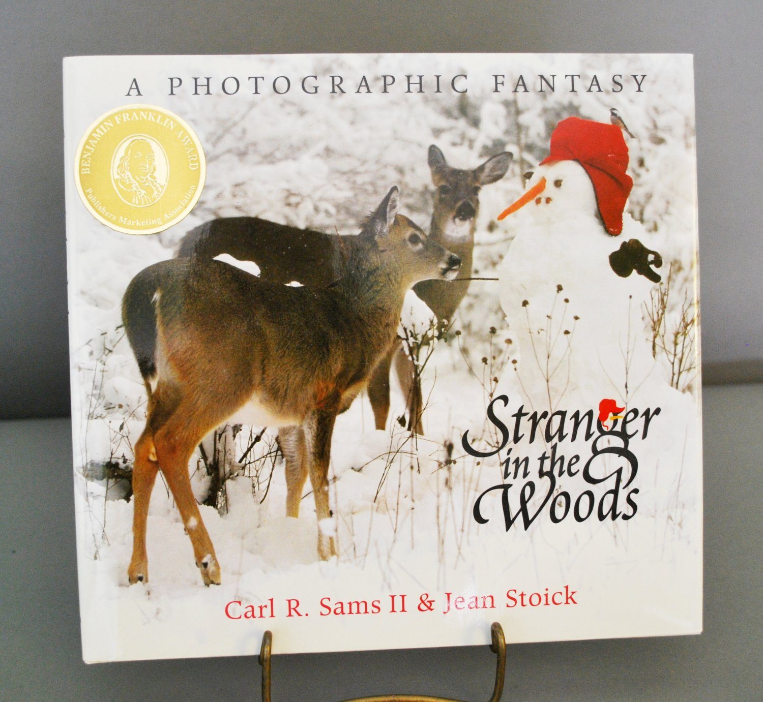 Stranger in the Woods A Photographic Fantasy HB Sams & Stoick