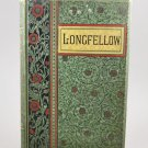The Poetical Works of Henry Wadsworth Longfellow 1891 Green HB