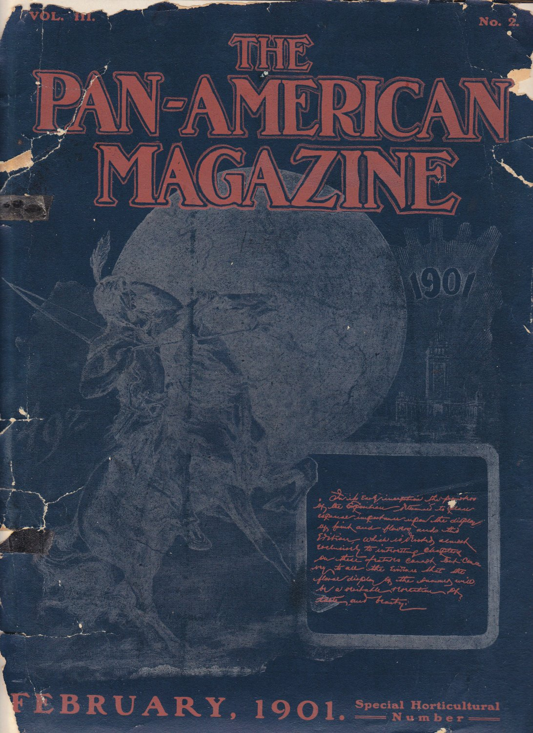 Pan-American Magazine - Febuary  1901 issue