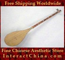 Uyghur Lute Silk Road String Musical Instrument Xinjiang World Music Dutar 110cm