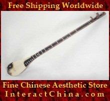 Uyghur Lute Silk Road String Musical Instrument Xinjiang World Music Tambur 60cm