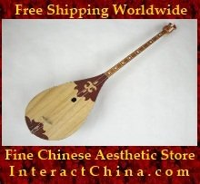 Uyghur Lute Silk Road String Musical Instrument Xinjiang World Music Dombura 60cm