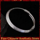 Fine 999 Cuff Bracelet High Purity Sterling Silver Jewelry 100% Handcrafted #140