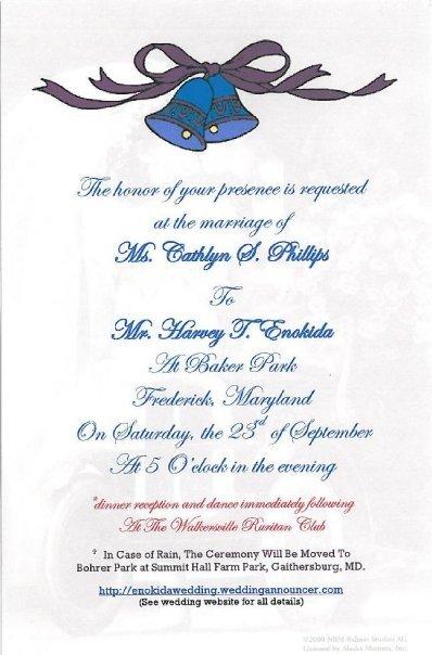Custom Invitations / Stationary