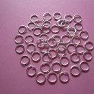 Silverplated Jump Rings 6mm (100pcs)