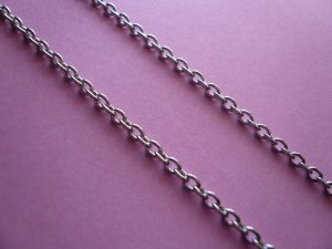 Silverplated Nickel Free Metal Chain *3ft 2in*