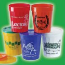 100 16 oz. Custom Printed Fluted Stadium Cups