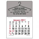 150 Custom Printed Press N Stick Small Auto Desk 2012 Calendars (Standard) Item#V7870