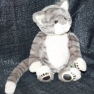 LINDA FULMER GALLERY TEDDY BEARS KITTY CAT #1605 GRAY