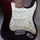 Fender Stratocaster Electric Guitar Midnight Wine Red w/ Pearl Pickguard + Case