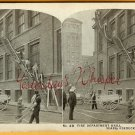 Chicago IL SEARS Roebuck CO Bldg FIRE Drill STEREOVIEW