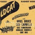 Maria Montez Jon Hall Gypsy Wildcat 1944 Movie Promo